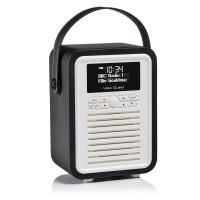 VQ Retro Mini Black DAB+/FM RADIO