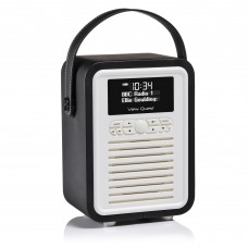 VQ Retro Mini Black DAB+/FM RADIO