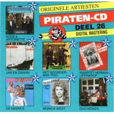 ORIGINELE ARTIESTEN PIRATEN CD DEEL 26