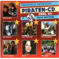 ORIGINELE ARTIESTEN PIRATEN CD DEEL 54