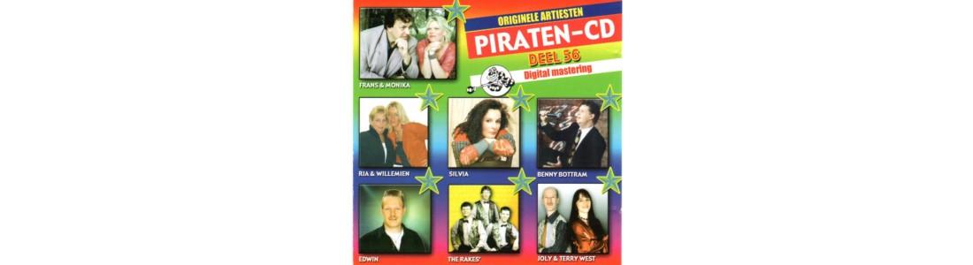 ORIGINELE ARTIESTEN PIRATEN CD DEEL 56