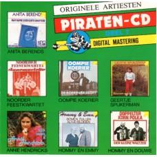 ORIGINELE ARTIESTEN PIRATEN CD DEEL 7