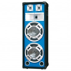"SkyTec Disco PA speaker 2x 8"" 600W LED"