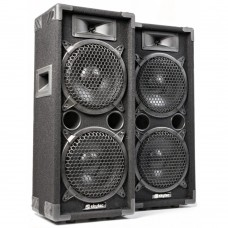 1600Watt SkyTec MAX28 Disco Speakerset 2x 8 Inch