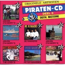 Originele Artiesten Piraten CD Deel 08