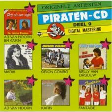 Originele Artiesten Piraten CD Deel 09