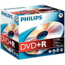 Philips DVD+R DR4S6J10C/10