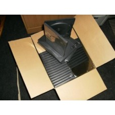 DVD box voor 1 DVD 14 mm rug zwart 50 stuks