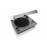 Lenco L-3808 Snelstarter USB Platenspeler / Grijs
