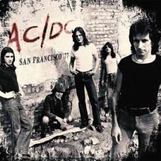 LP - AC/DC - San Francisco 77 [Rood Vinyl] 2LP