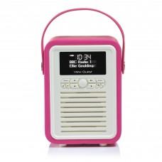 VQ Retro Mini DAB+/FM RADIO PINK