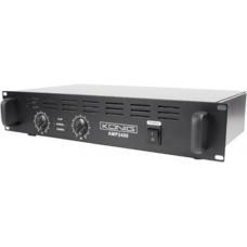 König PA-AMP2400-KN Optreden/podium Bedraad Zwart audio versterker