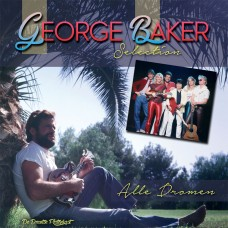 George Baker – Wasted Love / Papillon 7″ ( Blauw Vinyl )