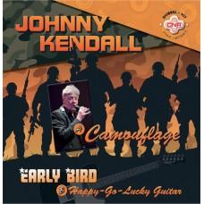 Johnny Kendall - Camouflage (Groen Transparant Vinyl)
