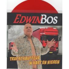 Edwin Bos - Truckchauffeur In Hart En Nieren [Rood Vinyl]
