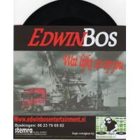 Edwin Bos - Truckchauffeur In Hart En Nieren [Zwart Vinyl]