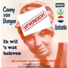 Conny Van Bergen - Ik Wil Eens Wat Beleven - Muziekhoekje Deel 3 UITVERKOCHT!!!!!