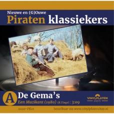 De Gema's - Een Muzikant - Piraten Klassiekers deel 1