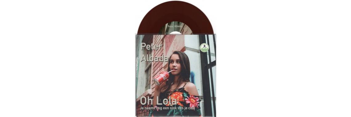 Peter Albada - Oh Lola [Bruin Vinyl] Met Gratis Cd Album