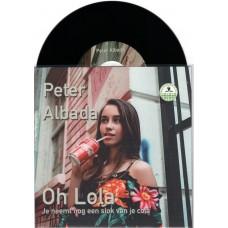 Peter Albada - Oh Lola [Zwart Vinyl] Met Gratis Poster UITVERKOCHT!!!!
