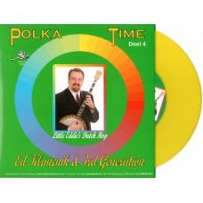 Polka Time Deel 4 - Ed Klancnik & 3d Generation [Geel Vinyl]