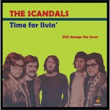 """The Scandals - Time for livin """"Zwart Vinyl"""""""