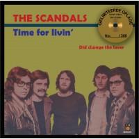 """The Scandals - Time for livin """"Goud Vinyl"""" 300 STUKS genummerd"""