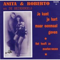 Telstar Favorieten Deel 33 - Anita & Roberto En De Heikrekels - Je Kunt Je Hart Maar Eenmaal Geven