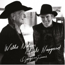 WILLIE NELSON & MERLE HAGGARD - DJANGO AND JIMMIE - 2 LP