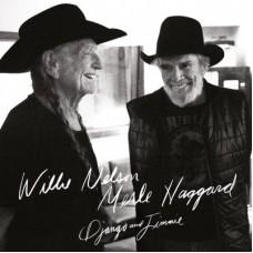 WILLIE NELSON & MERLE HAGGARD - DJANGO AND JIMMIE - 2 LP